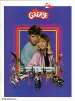GREASE 2/MICHELLE PFEIFFER 1982 MOVIE PROGRAM BOOK-MAXWELL CAULFIELD-NM TO MINT