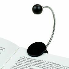 Disc Led Reading Light Withit Black Led Book Light Chrome Neck Books E Reader