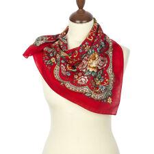 un authentique foulard russe 72*72 cm