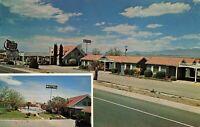 Postcard Country Manor Motel Safford Arizona