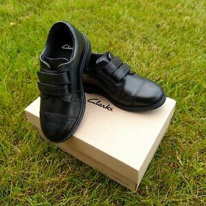NEW! Clarks Kids Black School Shoes -  8 to 9.5 UK Infant
