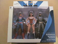 Superman Batman Wonder Woman Trinity War DC Comics New 52 Action Figure 3 Pack