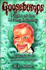 Night of the Living Dummy (Goosebumps),R. L. Stine- 9780590555791