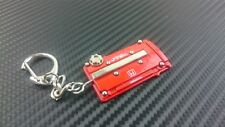 P2M Phase 2 Metal Valve Cover Keychain for Honda B-Series Motor RED Type R