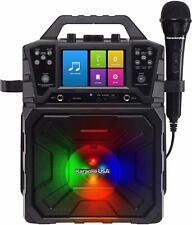 "Karaoke Usa Portable Mp3 Karaoke System-4.3"" Digital Screen & Recording Function"