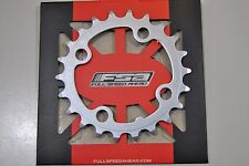 Corona FSA MTB 22T 9s 64mm ACERO Silver/PLATO FSA 22T 64mm 9s Acero Silver