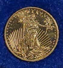 1908 $2022k SolidGold Miniature 9mm Saint GaudensCoin .9g