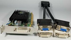 Dell OptiPlex 3010 3020 7010 7020 9010 9020 Slim Video Card DVI VGA Dual Monitor