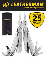 Genuine Leatherman Surge Stainless Steel Multi-Tool & Nylon Sheath 25 Yr Wty
