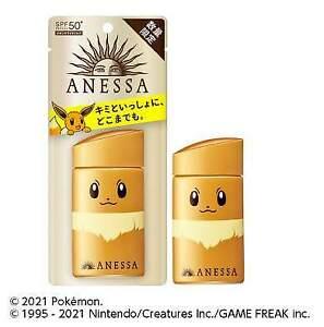 2021 Shiseido Pokemon Limited Package Anessa Perfect UV Sunscreen milk 60ml