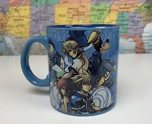 SHIPS SAME DAY Disney Kingdom Hearts 2 II Ceramic Coffee Mug Cup 20-Ounces Rare