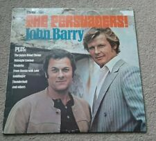 THE PERSUADERS ETC SOUNDTRACK VINYL LP - JOHN BARRY - 007, CHASE, VENDETTA ETC