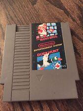 Super Mario Bros. / Duck Hunt Original Nintendo NES Nice Cart Works NE3