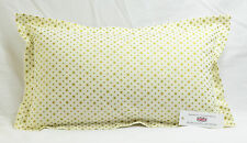 "Gold Stars Oxford Style Rectangular Oblong Cushion 21"" x 13"" 100%  Cotton"