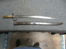 New ListingFrench Mle 1866 Chassepot Bayo-German Captured & Modified For 71/84 Mauser Rifle