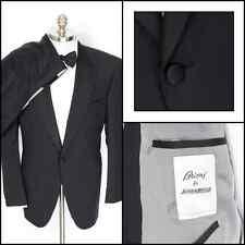 BRIONI James Bond 007 Black Wool 1Btn Peak Tuxedo Suit 60 6L 50 50L NWT $15K