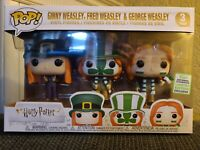 FUNKO POP! HARRY POTTER: WEASLEY 3-PACK...BARNES AND NOBLE EXCL