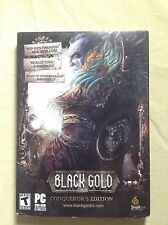 Black Gold Online - Conqueror's Edition BRAND NEW Factory Sealed Unopened
