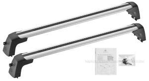 Mercedes OEM Roof Rack Basic Carrier Cross Bars 2015 to 2020 C-Class Sedan W205