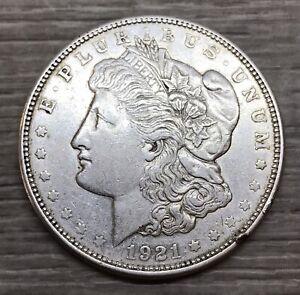 1921-D Morgan Dollar 1$ Silver Coin (M160)