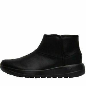 SKECHERS On The Go Joy Harvest Boots Booties BLACK Comfort Memory Foam UK 4 BNIB