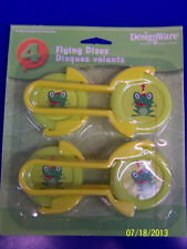 Jungle Frolic Wild Safari Animals Birthday Party Favor Toy Flying Disc Launchers