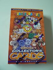 Ty BEANIE BABIES collector cards 1999 SERIES 4 - 2nd EDITION - Sealed box 24 pks
