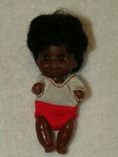 VINTAGE MATTEL 1973 SUNSHINE FAMILY AFRICAN AMERICAN BLACK BABY DOLL