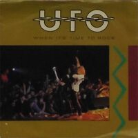 """UFO 'WHEN IT'S TIME TO ROCK' UK PICTURE SLEEVE 7"""" SINGLE"""