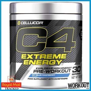 Cellucor C4 Extreme Energy Pre Workout Focus Pump Endurance 300g   30 SERVINGS