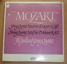 Juilliard Quartet MOZART String Quartets K.387 & 421 - Epic LC 3880 SEALED