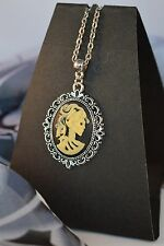 LOLITA ANTIQUE STYLE CAMEO NECKLACE  [13/1/36]
