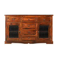 Jali Sheesham Large Sideboard Living Room Solid Wood Indian Furniture