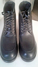 Metropolitan View The Mens Store NEW Leather Boots Black 9.5 M US