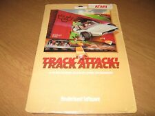** Atari 400/800/XL/XE Disk - Track Attack by Broderbund Software - Rare!! **