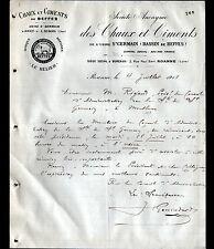 JOUET-sur-l'AUBOIS / ROANNE (18 / 42) USINE ST-GERMAIN ,CHAUX & CIMENT de BEFFES