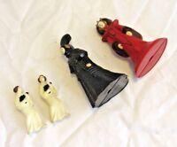 Lot of 4 Action Figures Star Wars  Princess Leia & Padme
