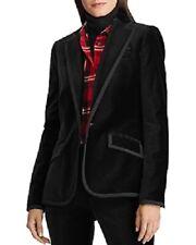 Lauren Ralph Lauren Women's Velvet Blazer Jacket, Black, Size 10, $265, NwT