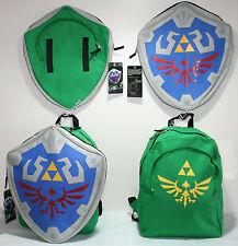 The Legend Of Zelda Shield Backpack REMOVABLE Hylian School Book Bag NINTENDO