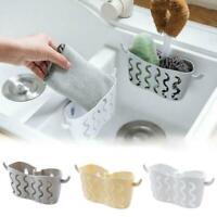Kitchen Bathroom Sponge Sink Tidy Holder Suction Strainer Basket Small D3T6
