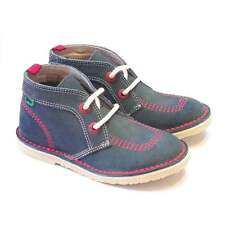 Kickers Suede Shoes with Laces for Boys