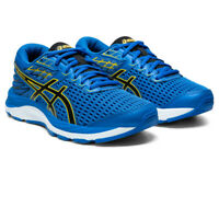 Asics Boys Gel-Cumulus 21 GS Running Shoes Trainers Sneakers - Blue Sports