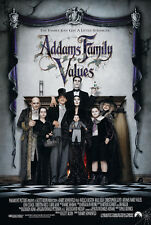 """ADDAMS FAMILY VALUES 1993 Original DS 2 Sided 27x40"""" US Movie Poster A Houston"""