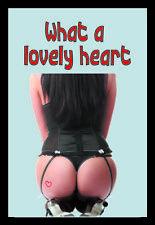 Lovely Heart Pin Up Girl Nostalgie Barspiegel Spiegel Bar Mirror 22 x 32 cm