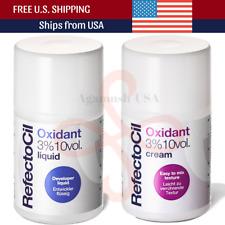 Refectocil Oxidant 3% Developer, Liquid 10 Vol 3.38 oz (100ml) For Brow Lash Dye