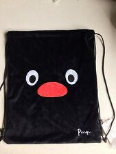 PINGU PLUSH DRAWSTRING BAG, BRAND NEW AND UNUSED. BNWT.