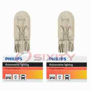 2 pc Philips Front Side Marker Light Bulbs for Suzuki Aerio Equator Forsa vg