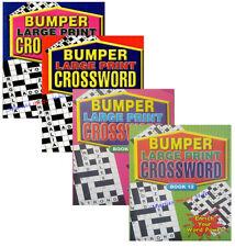 Bumper Large Print Crossword - 2 Book Set Good