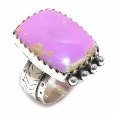 Silver Ring Size 10 Phosphosiderite Gemstone Handmade 925 Sterling