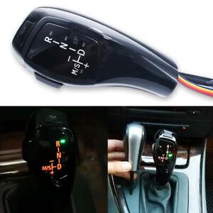 Automatic LED Shift Knob Gear Shifter For BMW E90 E92 E93 F30 Style Black LHD